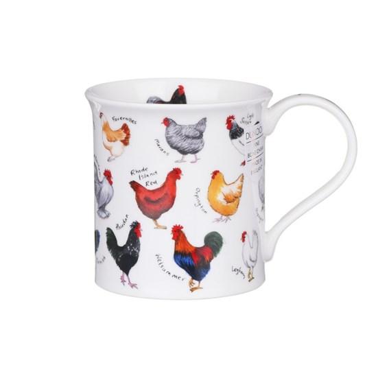 Dunoon Animal Breeds Chicken Mug