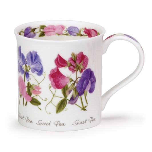 Dunoon Summer Flowers Sweet Peas Mug