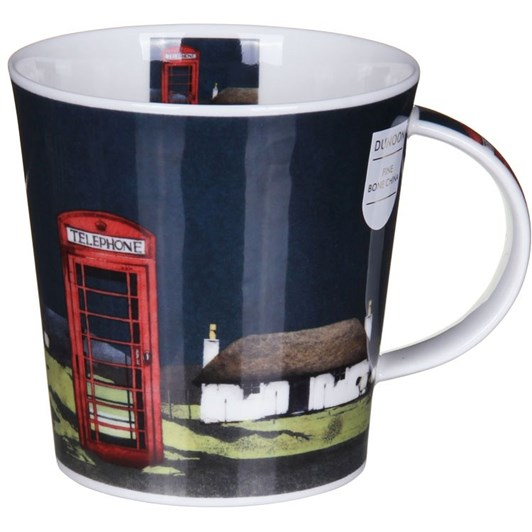 Dunoon Highland Retreat Phonebox Mug