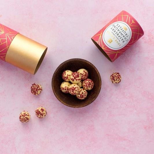 Love Cocoa Raspberry Champagne Truffles 150G