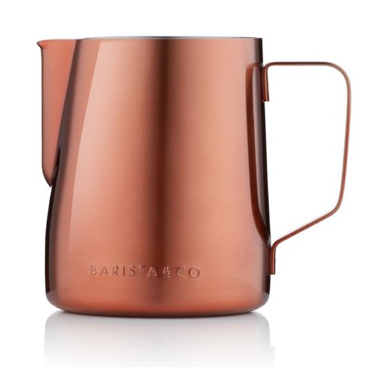 Barista & Co Core Milk Jug 600ml Copper