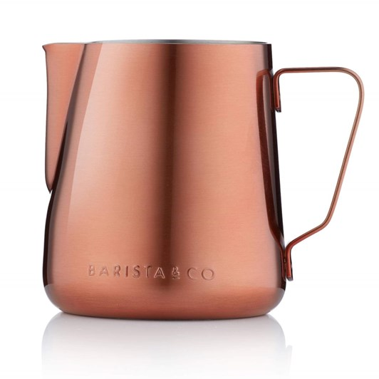 Barista & Co Milk Jug 420ml Copper