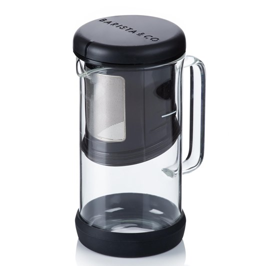 Barista & Co One Brew Coffee/Tea Infuser Black