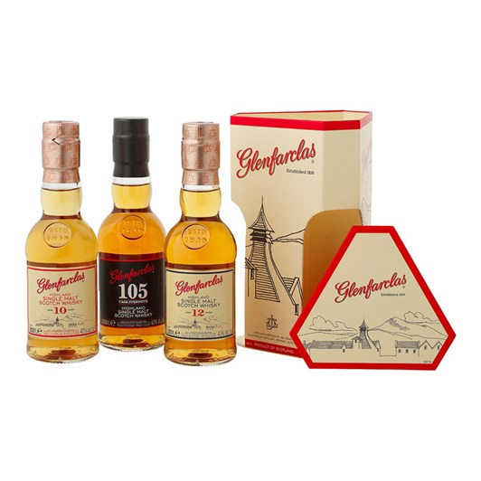 Glenfarclas Mini Tri-Pack 10/12/105 Years Old
