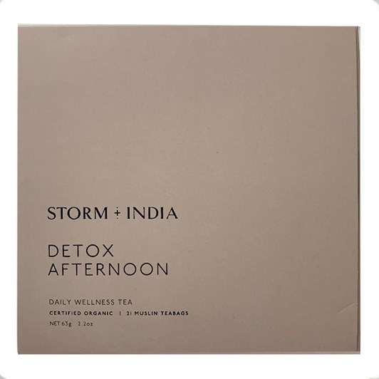 Storm + India Detox Afternoon Teabags 21x3g
