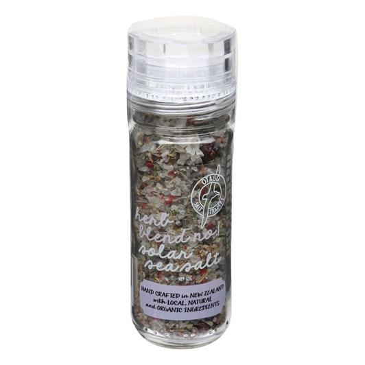 Otago Salt Traders Herb Blend No1 Solar Sea Salt