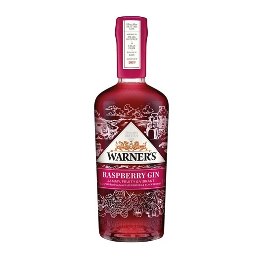 Warner's Raspberry Gin 700ml