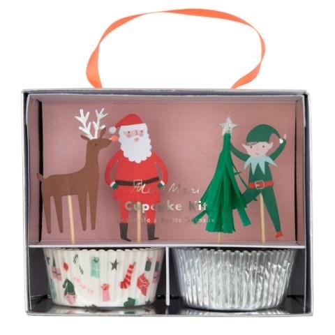 Meri Meri Festive Cupcake Kit