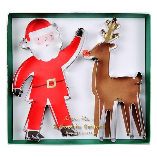 Meri Meri Santa & Raindeer Cookie Cutters