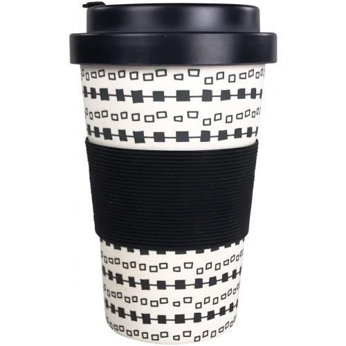 Square Eco Mug Monochrome 400ml
