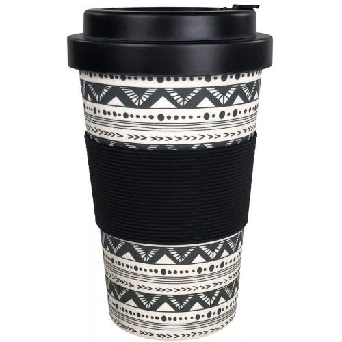 Tribal Eco Mug Monochrome 400ml