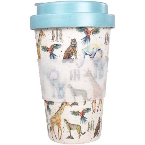 SE Zoo Eco Mug Multicolour 400ml