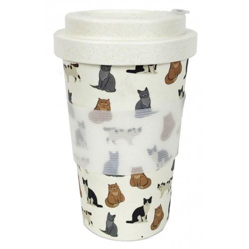Cat Eco Mug Multicolour 400ml