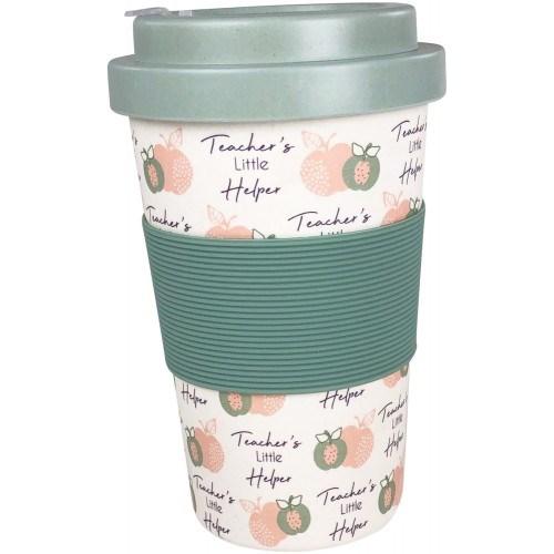 Teacher's Little Helper Eco Mug Natural