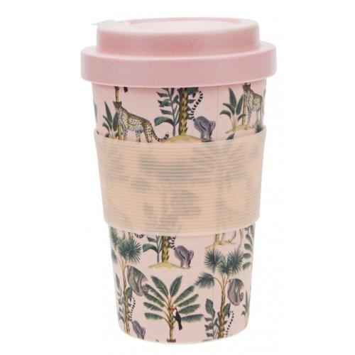 Wild Jungle Eco Mug Pink 400ml