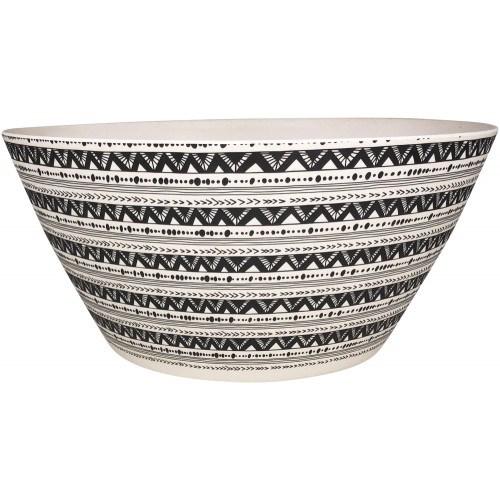 Tribal Salad Bowl Monochrome Large 12cm