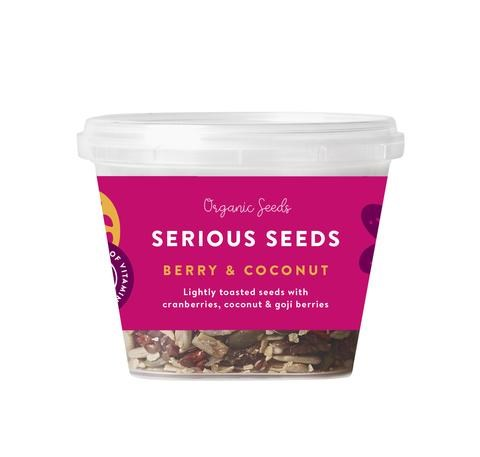Serious Seeds 120gm - Berry & Coconut