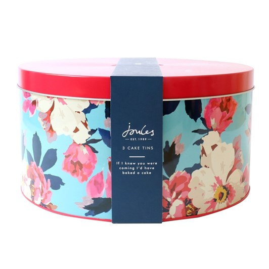Joules Cake Tins Nest Of 3