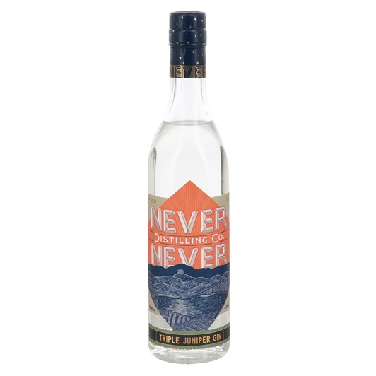 Never Never Triple Juniper Gin 500ml