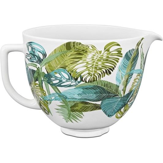 KitchenAid Tropical Floral Ceramic Bowl