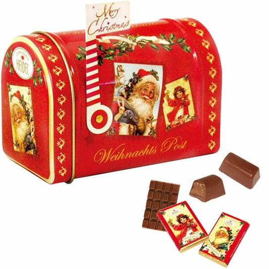 Heidel Christmas Nostalgia Mailbox With Assorted Chocolates 95g