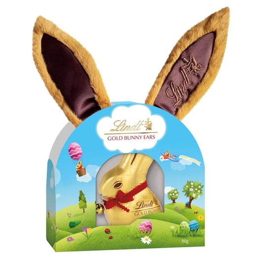 Lindt Gold Bunny Plush Ears 50g