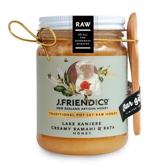 J Friend Raw Honey - Lake Kaniere Creamy Kamahi & Rata