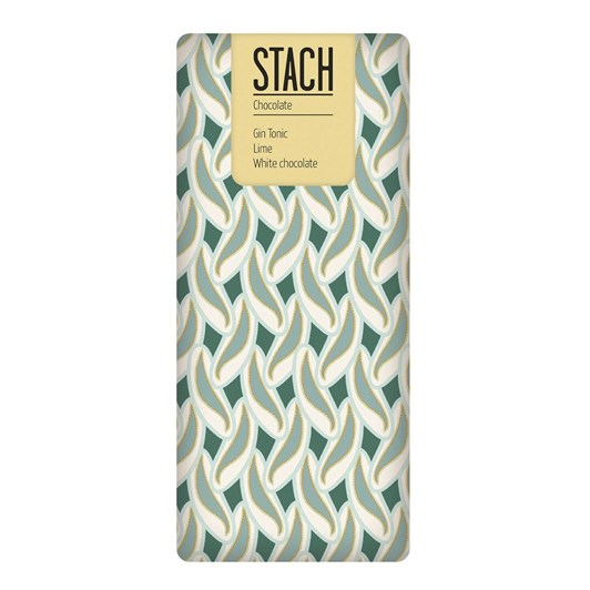 Stach Gin Tonic & Lime White Chocolate 130G