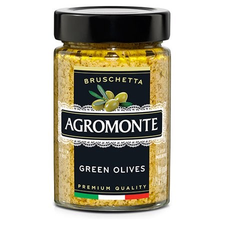 Agromonte Bruschetta Green Olive 200g