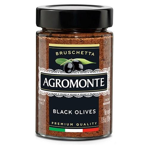 Agromonte Bruschetta Black Olive 100g