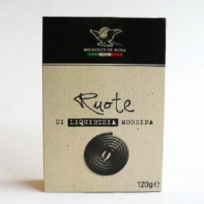 Menozzi Licorice Ruote (Wheels) 120g