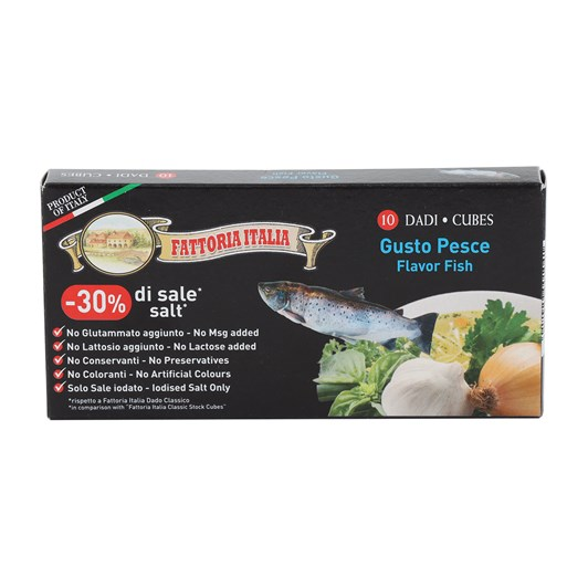 Fattoria Stock Cubes Fish Top 110g