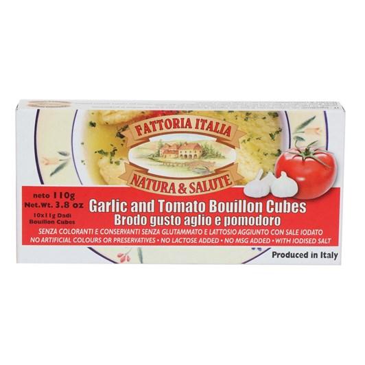 Fattoria Stock Cubes Garlic And Tomato 110g