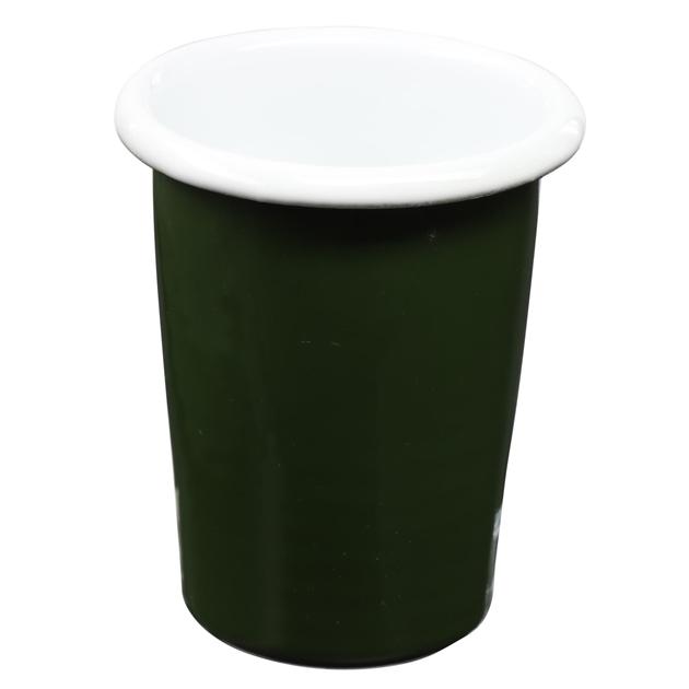 Elifle Rubienda Small Tumbler Conic - white green