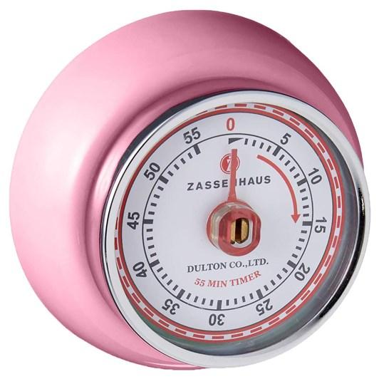 Zassenhaus Timer Pastel Pink
