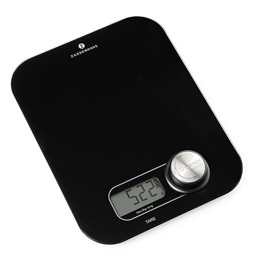 Zassenhaus Digital Eco Scales Black