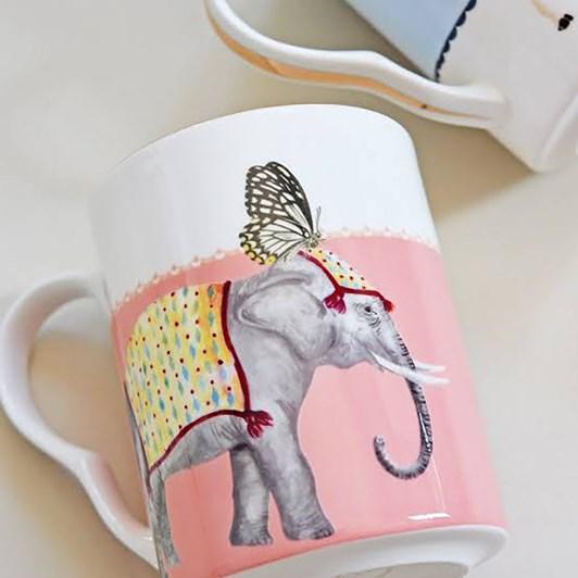 Yvonne Ellen Giraffe & Elephant Mug Set