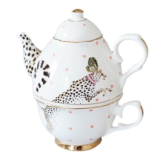 Yvonne Ellen Cheetah Tea For One