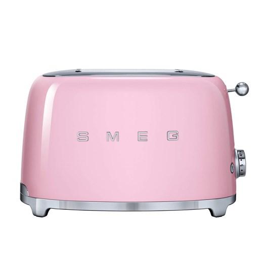 Smeg 2 Slice Toaster - Pink