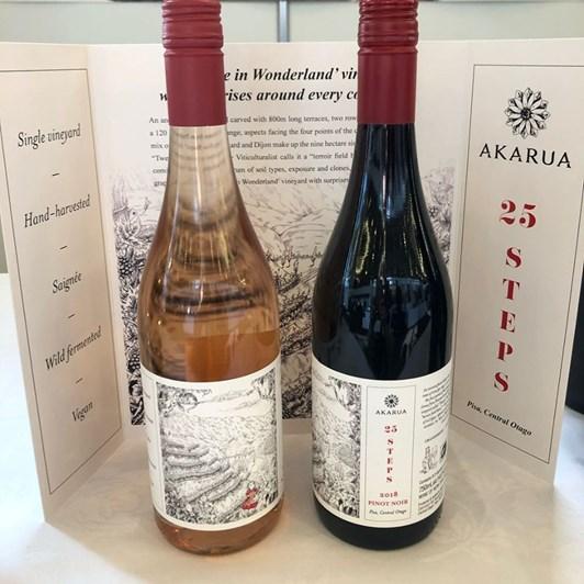 Akarua 25 Steps Central Otago Pinot Rose 18