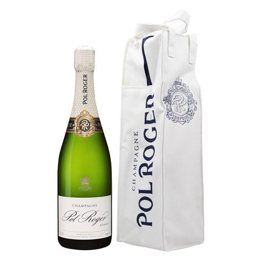 Pol Roger Brut Reserve With Isotherm Gift Bag