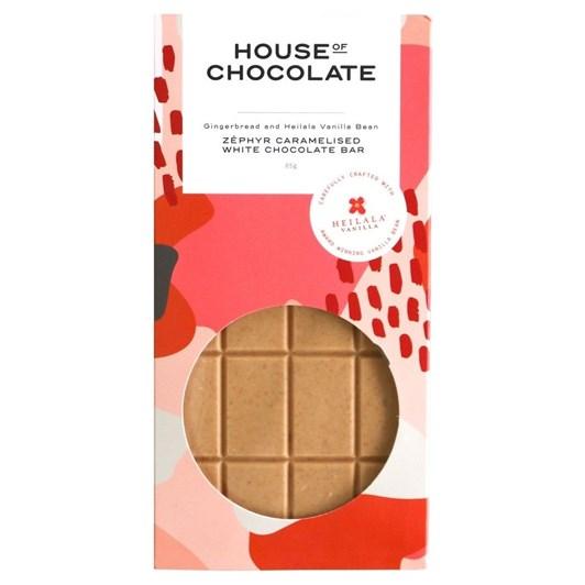 House of Chocolate Gingerbread Vanilla Bar