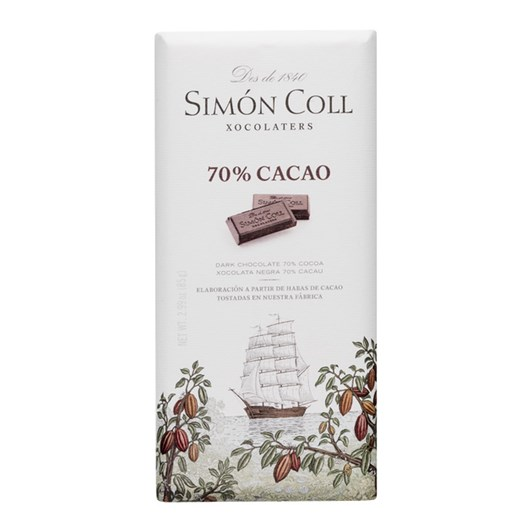 Simon Coll Chocolate 70% 85g