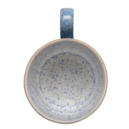 Denby Studio Blue Brew Teacup & Saucer