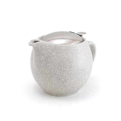 Zero Japan Crackle White Teapot 450ml
