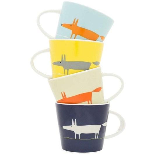 Mr.Fox Espresso Cups Set Of 4