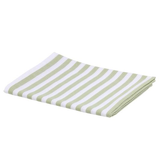 Kitchen Towel Stripes Green