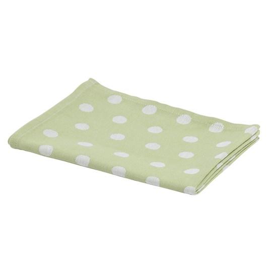 Kitchen Towel Dots Green