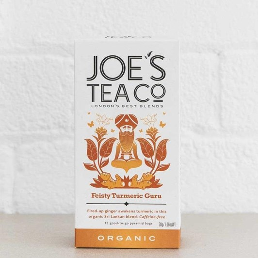 Joe's Tea Co. Feisty Turmeric Guru 30G