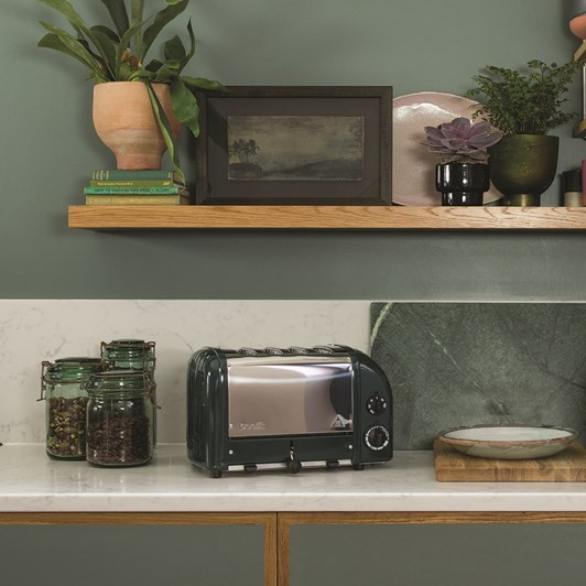 Dualit 4 Slice Toaster - Polished Evergreen
